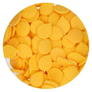 Funcakes Drip Deco melts geel 250gr FC43015