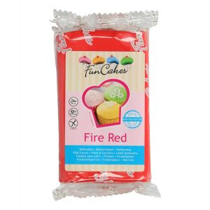 FunCakes Rolfondant Fire Red 250gr FC97350