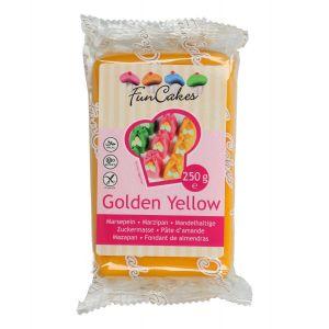 FunCakes Marsepein Golden Yellow 250gr FC99525