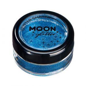 Moon Shaker fine glitter blauw 5gr