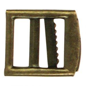 Gilet- /Knickerbockergesp 20mm bronskleurig 1st