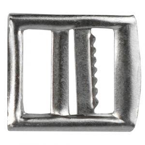 Gilet- /Knickerbockergesp 20mm zilverkleurig 1st