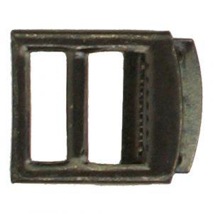 Gilet- /Knickerbockergesp 20mm zwart 1st