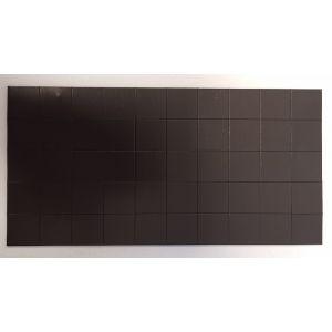 Magneetplaatjes 20x20mm 50st Glorex 6 1680 101