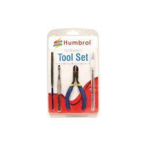 Humbrol small tool set 4-delig