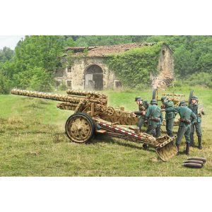 Italieri 15cm Field Howitzer 10,5cm Field gun ITA-7082