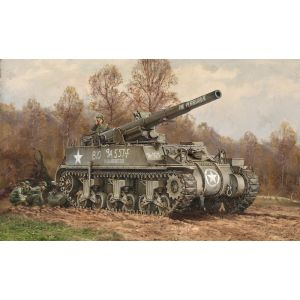 Italeri M12 Gun Motor Carriage