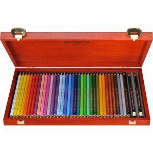 KOH-I-NOOR kleurpotloden 36st in houten kist KN362827