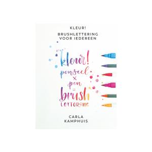 Kleur penseel x pen = Brushlettering