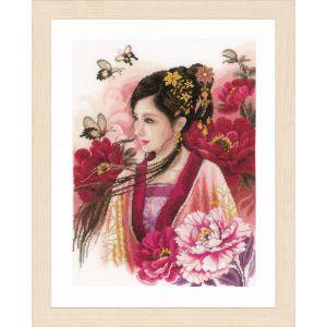 Lanarte Asian lady in pink