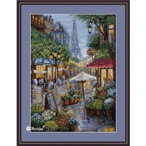Merejka borduurpakket Rainy Paris
