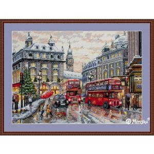 Merejka borduurpakket London MER-K159