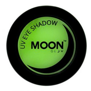 Moon Glow Neon UV eyeshadow green