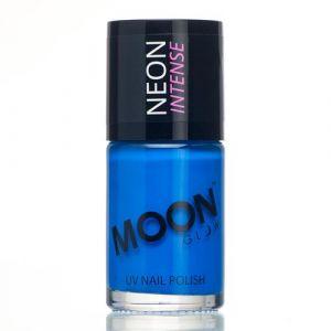 Moon Glow Neon UV nailpolish blue