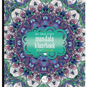 Het enige echte mandala kleurboek Artist's Edition 978 90 4532 183 7 Uitgeverij Mus Creatief
