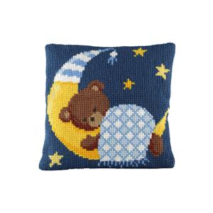 Pako Kussenpakket Beertje met deken blauw