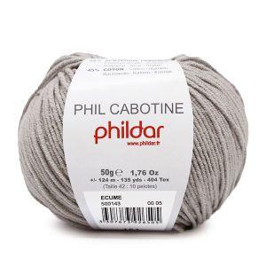 Phildar Cabotine kleur 05 ecume 50 gram