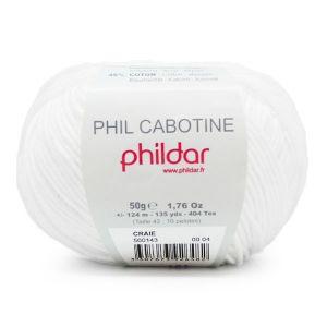 Phildar Cabotine kleur 04 craie 50 gram