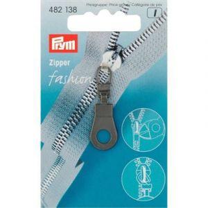 Prym Fashion Zipper ring zwart