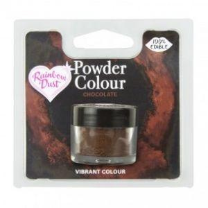 Rainbow Dust Powder Color Brown - Chocolate