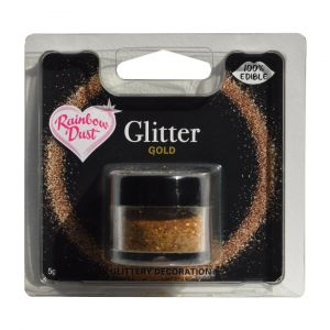 Rainbow Dust edible glitter gold RD8030