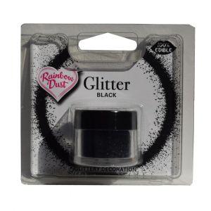 RD Edible glitter black 5gr