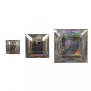 Acryl strass vierkanten kristal Rayher 15 235 00