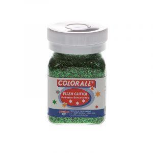 Colorall Flash Glitter groen 95gr 720174