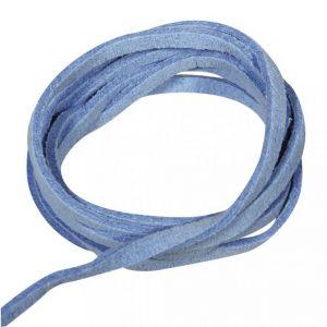 Daim micro suede veter blauw Rayher 83 000 09