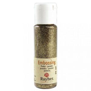 Embossing poeder briljant goud, dekkend Rayher 28000620