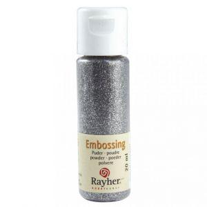 Embossing poeder briljant zilver, dekkend Rayher 28000610