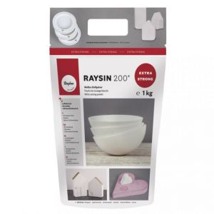 Gietpoeder Raysin 200 wit 1 kilo Rayher 36 990 00