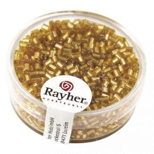 Glasstiften zilverkern 2x2mm goud Rayher 14 301 06