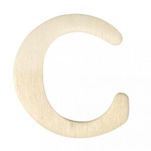 Houten letter C 4cm Rayher 61 602 00