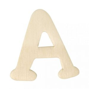 Houten letter A 4cm Rayher 61 600 00