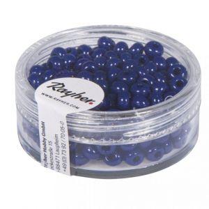 Indianenkralen 4,5mm donkerblauw