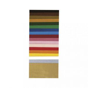 Wasfolie 18 assorti kleuren Rayher 31 026 00