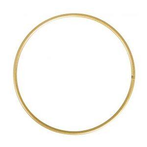 Metalen ringen 5 stuks goud Ø 10cm