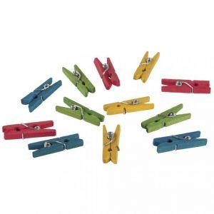 Mini houten wasknijpers 2,5cm Rayher 61 354 49