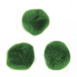 Pompons 15mm groen Rayher 76 512 29