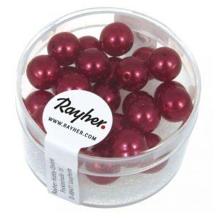 Renaissance glasparel 8mm klassiek rood Rayher 14 402 287