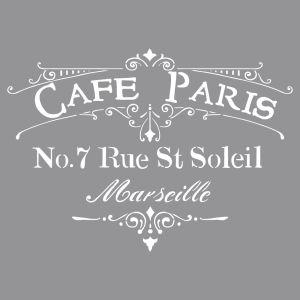 Sjabloon Café Paris Rayher 38 904 000