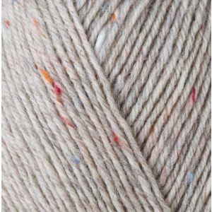 Regia Tweed sokkenwol 4-draads kleur 90 hellgrau tweed 035.9801271-90