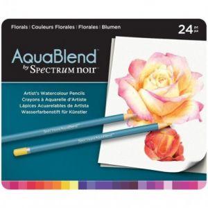 Spectrum Noir Aquablend Florals set 24 stuks