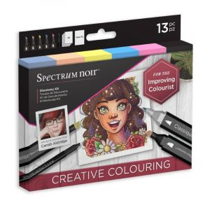 Spectrum Noir Discovery Kit Creative Coloring SPECN-DISC-COL