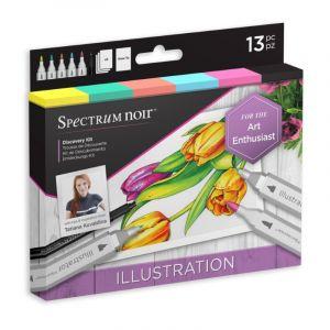 Spectrum Noir Discovery Kit Illustration 13-delig SPECN-DISC-ILL