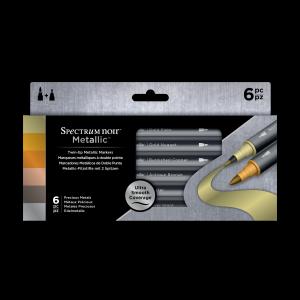 Spectrum Noir Metallic marker set Precious Metals 6 stuks