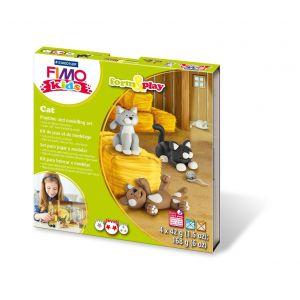 Fimo kinderset Cat 8034 16 LY