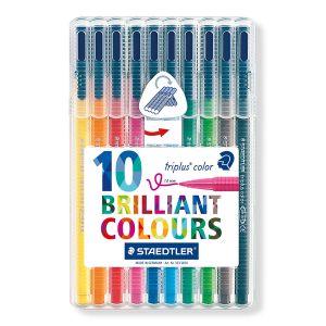 Set Staedtler Triplus color box 10 stuks