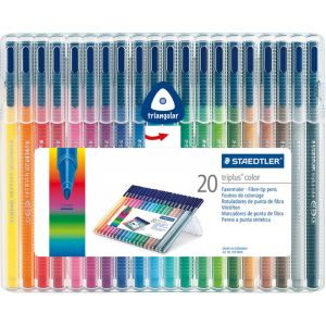 Set Staedtler Triplus color box 20 stuks